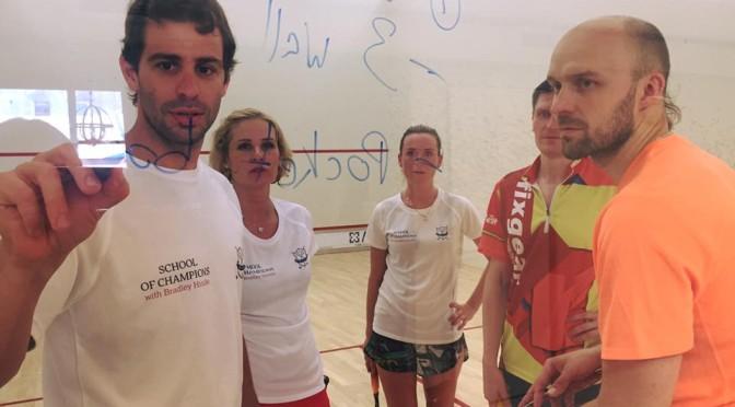Bradley squash camp 1